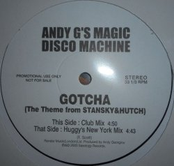 画像1: %% Andy G's Magic Disco Machine / Gotcha (ANDY#01)  YYY234-2564-1-1