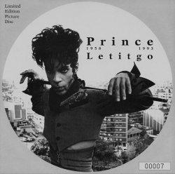 """画像1: $$ Prince / Letitgo  (5439-18052-7) 7"""" Picture Disc YYS105-2-2"""