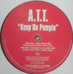 画像1: %% A.T.T. / KEEP ON PUMPIN (ATT001) YYY214-2329-5-50