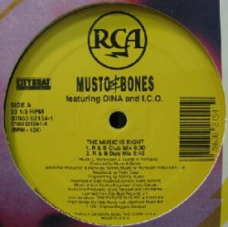 画像1: MUSTO & BONES / THE MUSIC IS RIGHT