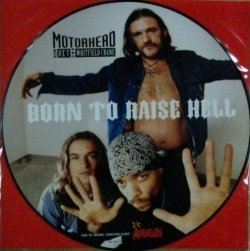 画像1: $ Motorhead With Ice-T And Whitfield Crane ‎/ Born To Raise Hell (74321 23015 1) YYY218-2377-3-4 後程済