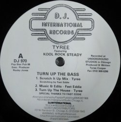 画像1: YN$ Tyree Featuring Kool Rock Steady / Turn Up The Bass (DJ 970) YYY122-1865-4-5