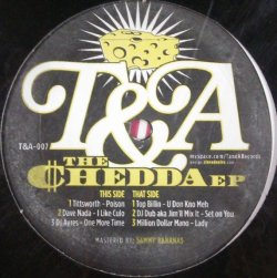 画像1: Various ‎/ The Chedda EP  ラスト 未 D4362