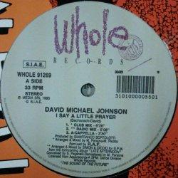 画像1: $$ David Michael Johnson / I Say A Little Prayer (WHOLE 91269) D4422-2 後程済