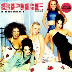 画像1: $ Spice Girls / 2 Become 1 (8939846) Wannabe * One Of These Girls YYY0-542--20-20