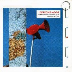 画像1: $$ Depeche Mode / Never Let Me Down Again (Tsangarides Mix) L12 BONG 14 YYY266-3070-2-3