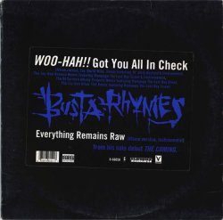 画像1: $$ Busta Rhymes / Woo-Hah!! Got You All In Check (0-66050) YYY305-3847-5-5