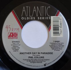 画像1: $$ Phil Collins / Another Day In Paradise / Who Said I Would (7-84881) YYS173-2-3